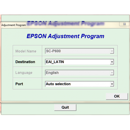Next  Epson P600 Adjustment - waste ink pad reset  100% working