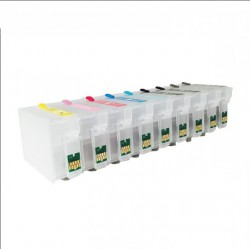 Set of refillable cartridges sc p600 espon - 30ml